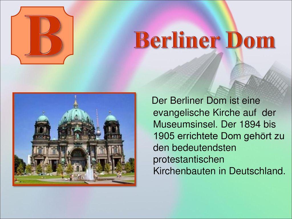 B Berliner Dom.
