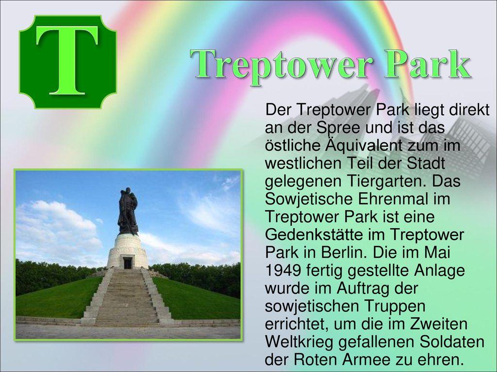 T Treptower Park.