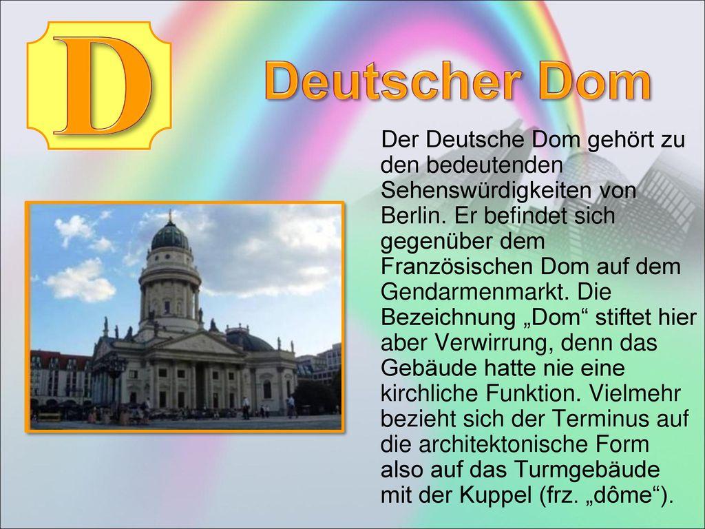 D Deutscher Dom.