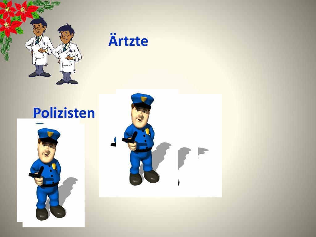 Ärtzte Polizisten
