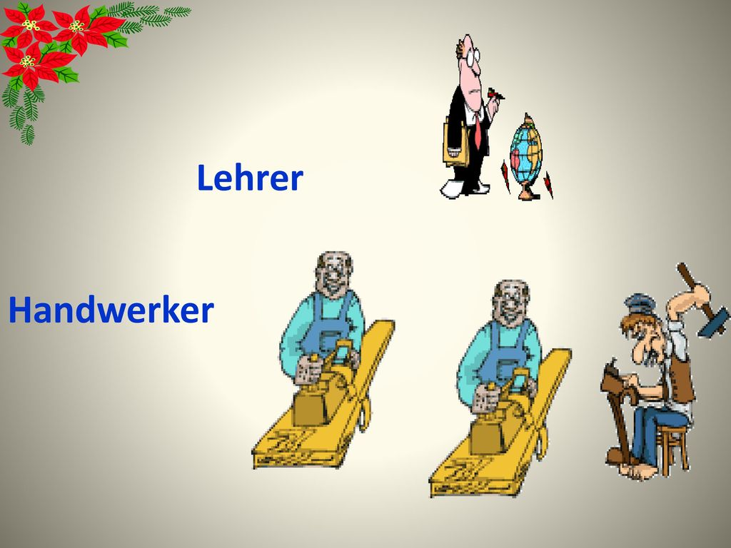 Lehrer Handwerker