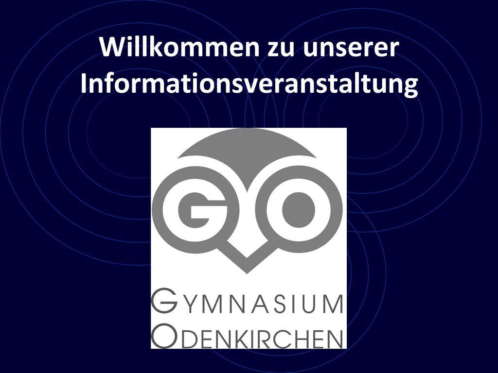 Willkommen zu unserer Informationsveranstaltung