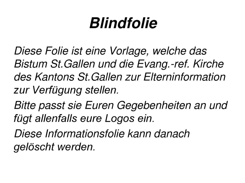 Blindfolie