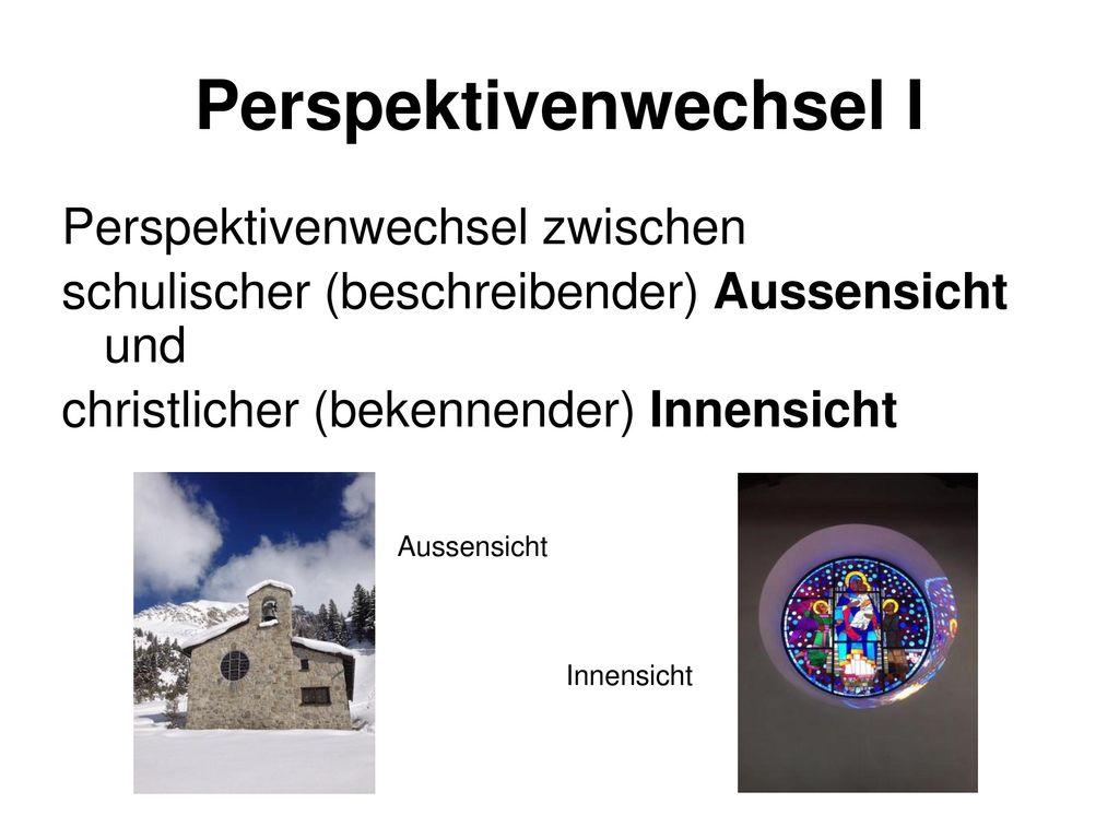 Perspektivenwechsel I