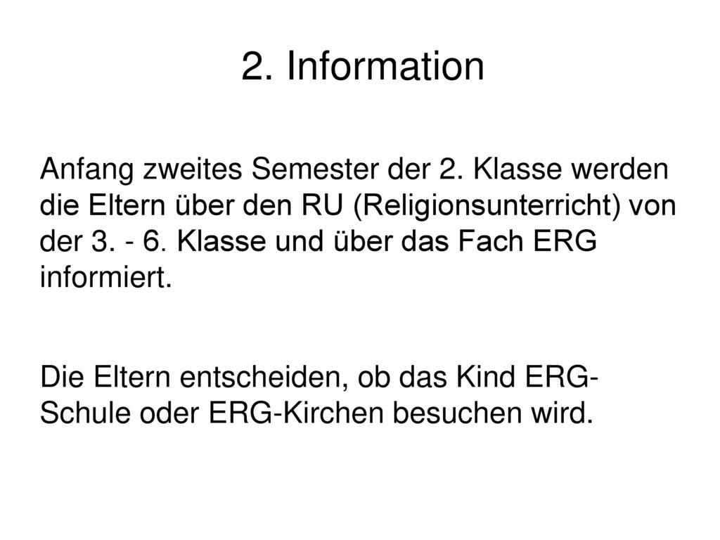 2. Information