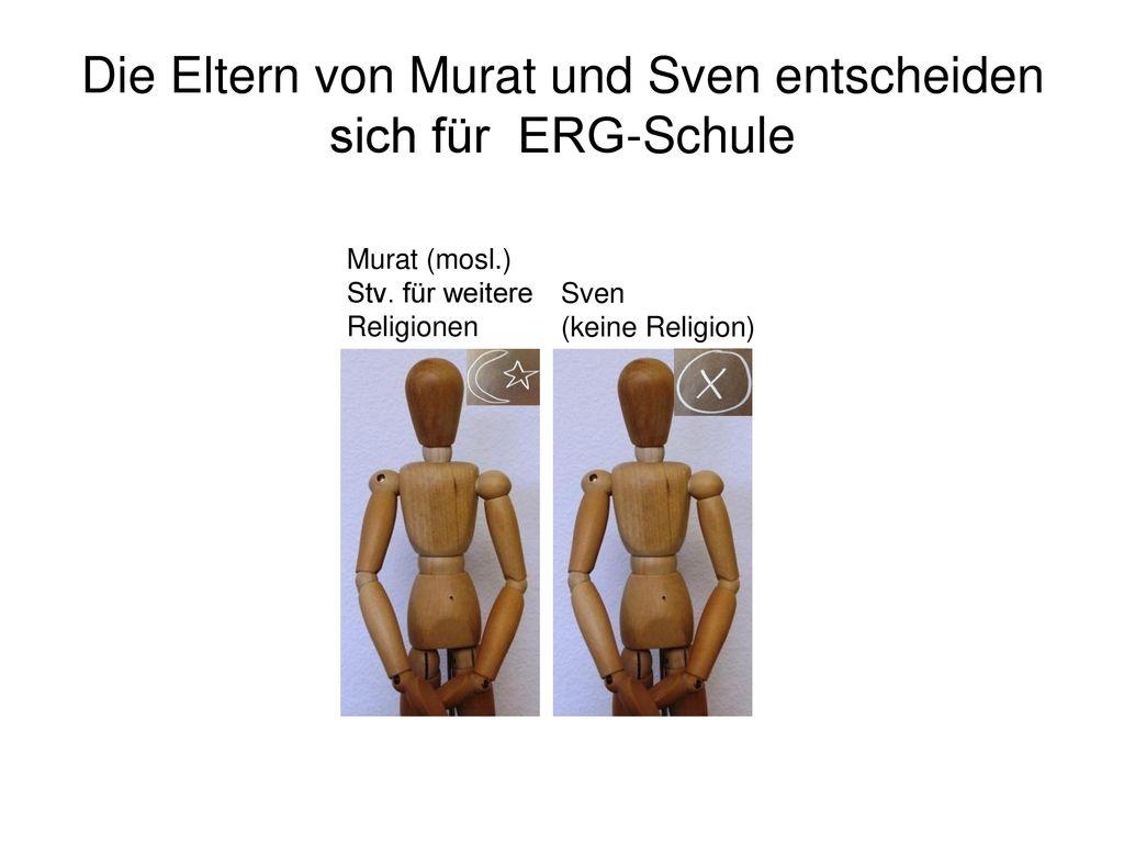 Die Eltern von Murat und Sven entscheiden sich für ERG-Schule