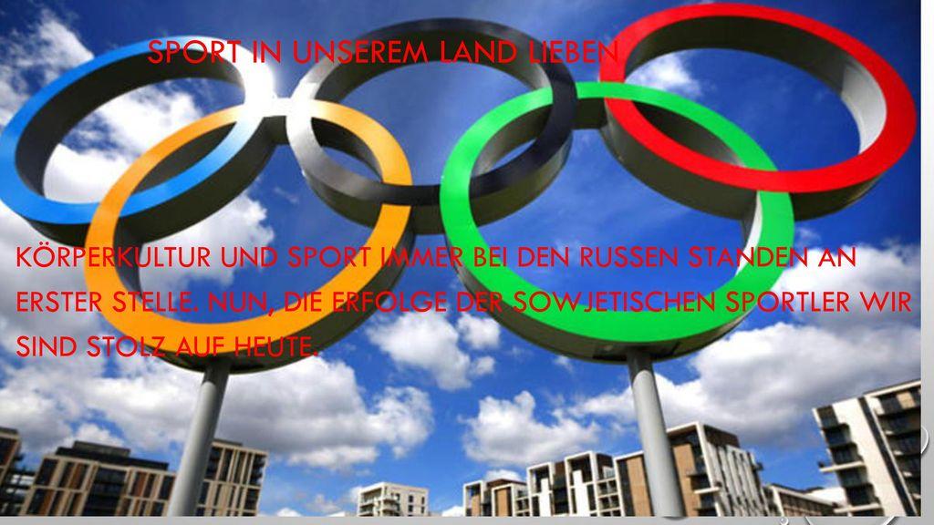 Sport in unserem Land lieben