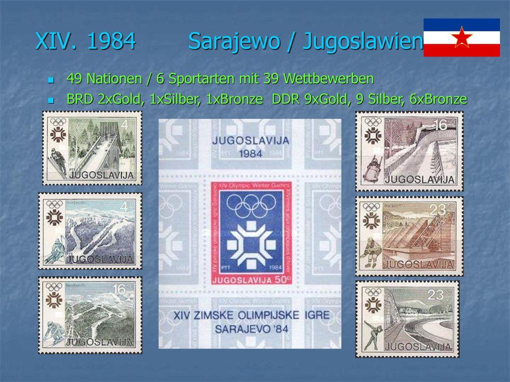 XIV. 1984 Sarajewo / Jugoslawien