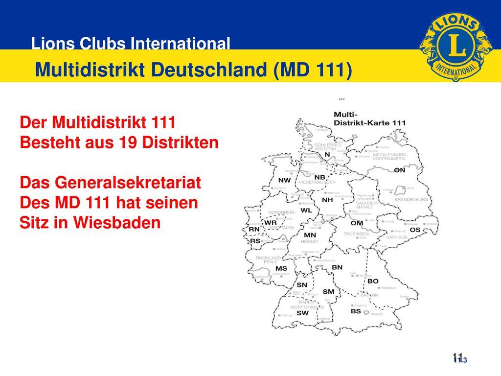 Multidistrikt Deutschland (MD 111)