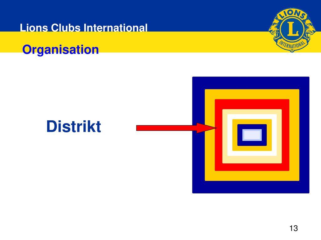 Distrikt Organisation 13