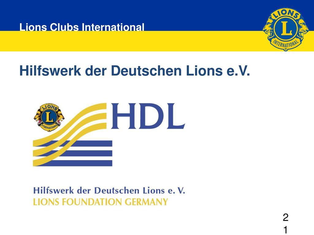 Hilfswerk der Deutschen Lions e.V.