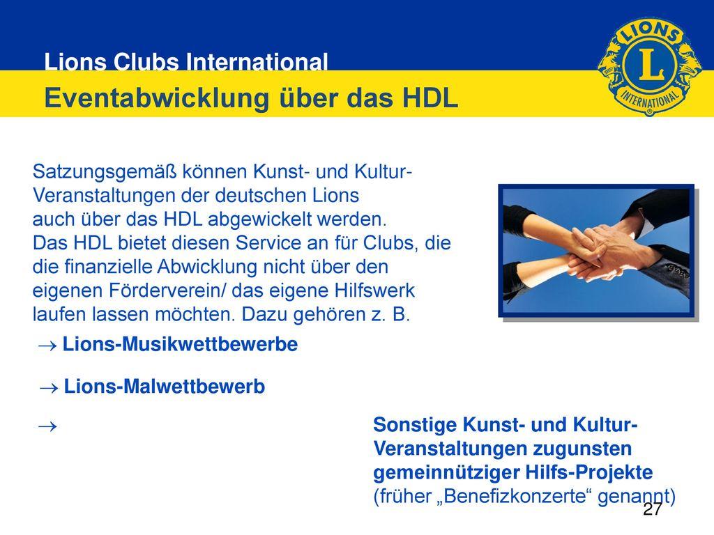 Eventabwicklung über das HDL