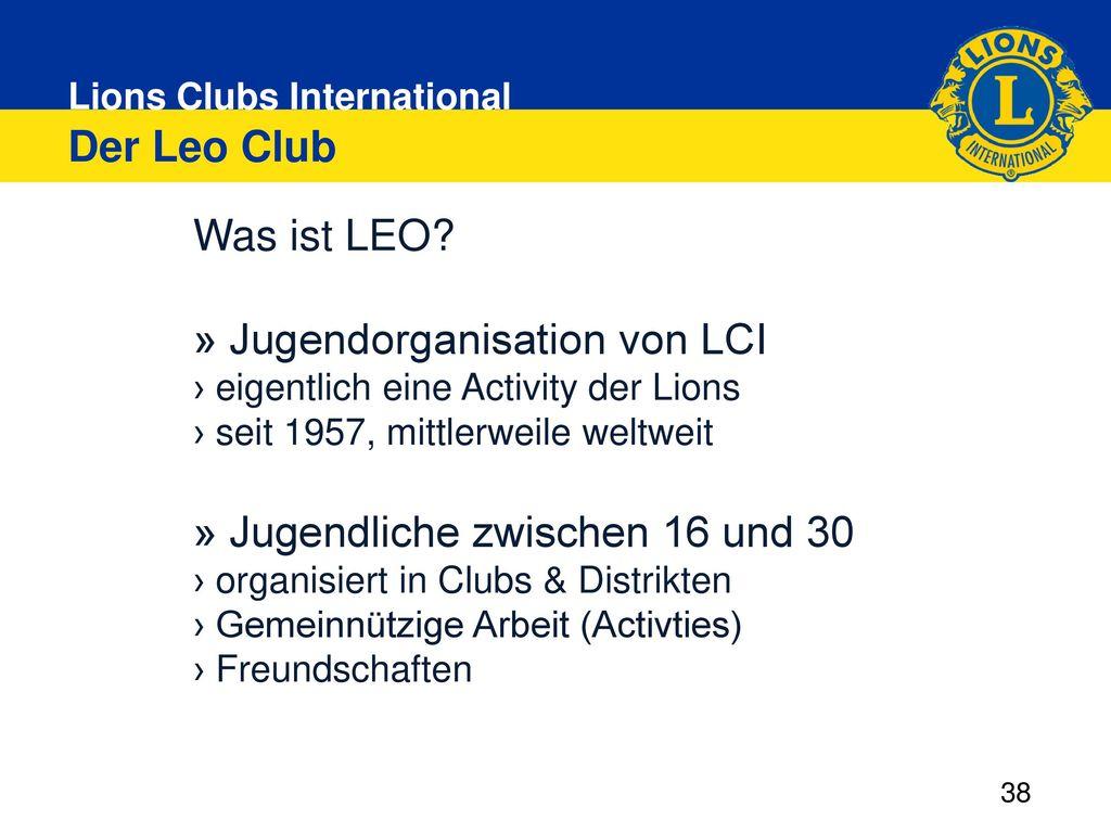 » Jugendorganisation von LCI