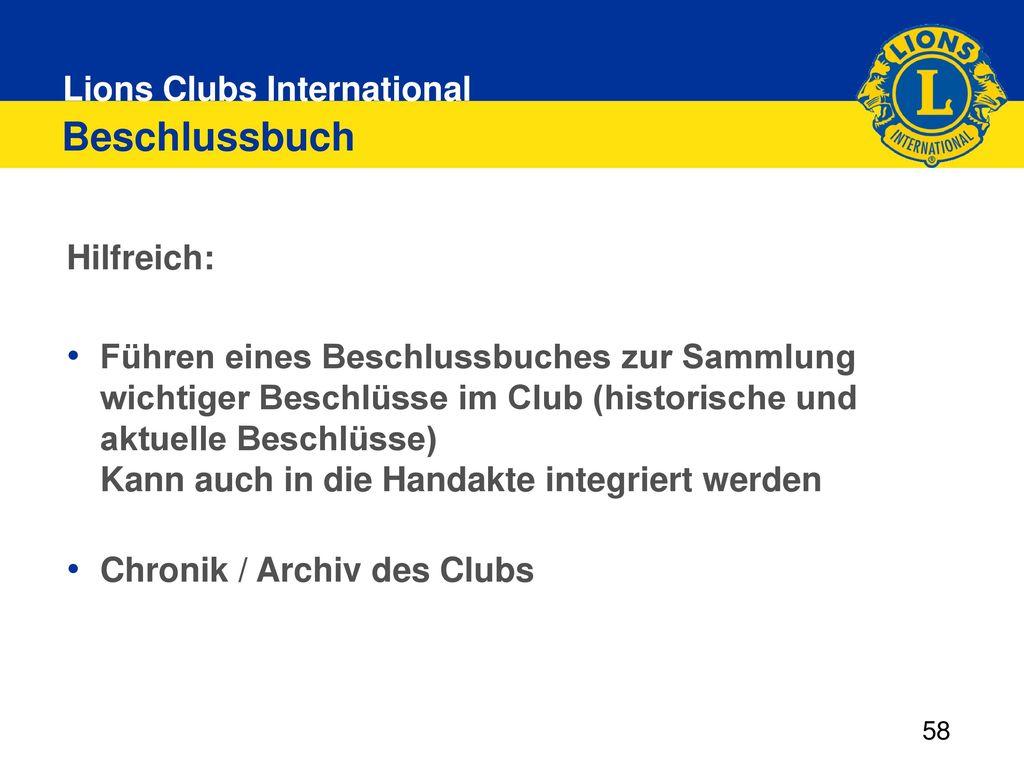 Beschlussbuch Hilfreich: