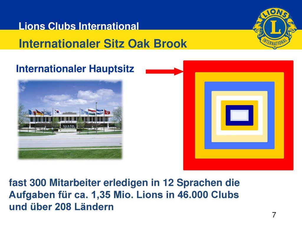 Internationaler Sitz Oak Brook