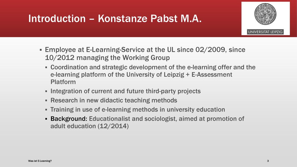 Introduction – Konstanze Pabst M.A.