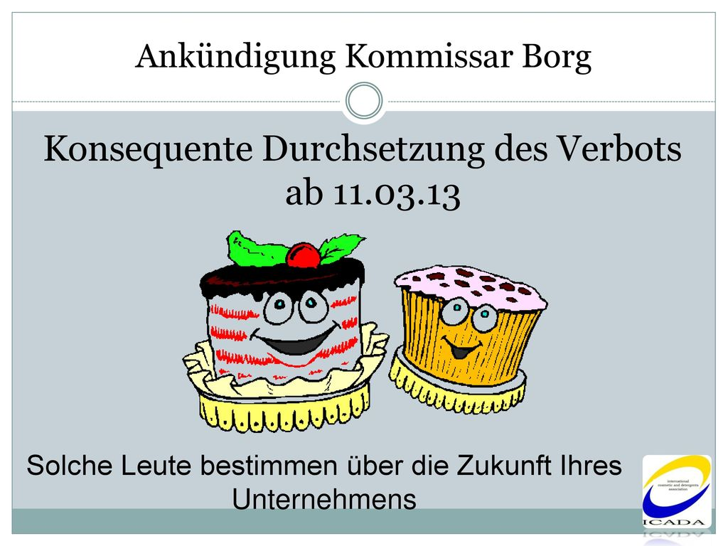 Ankündigung Kommissar Borg