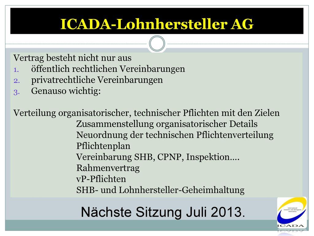 ICADA-Lohnhersteller AG