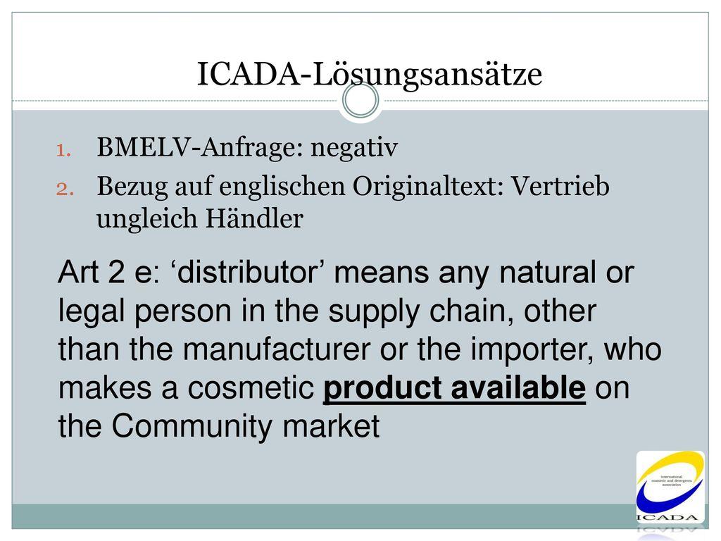ICADA-Lösungsansätze