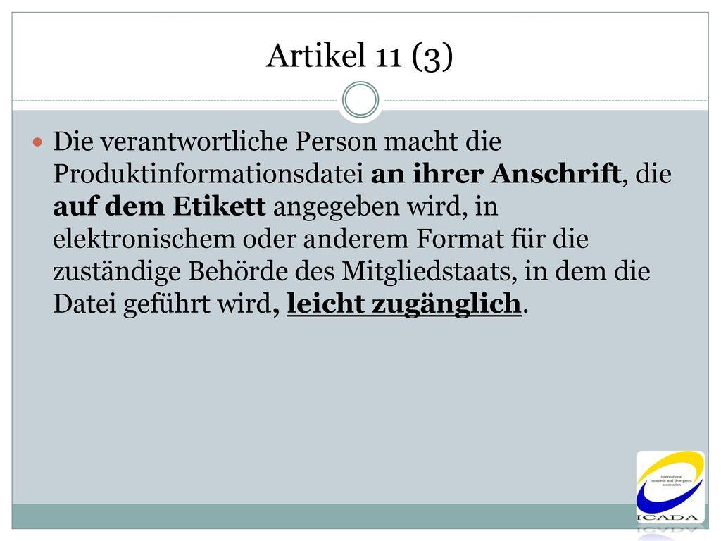Artikel 11 (3)