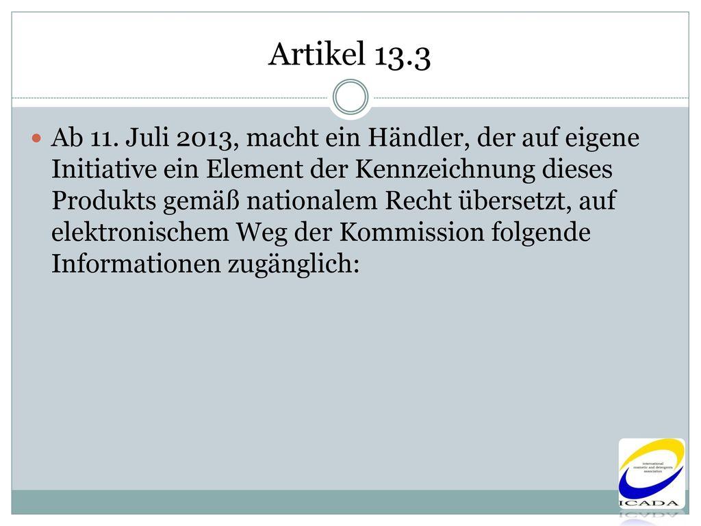 Artikel 13.3