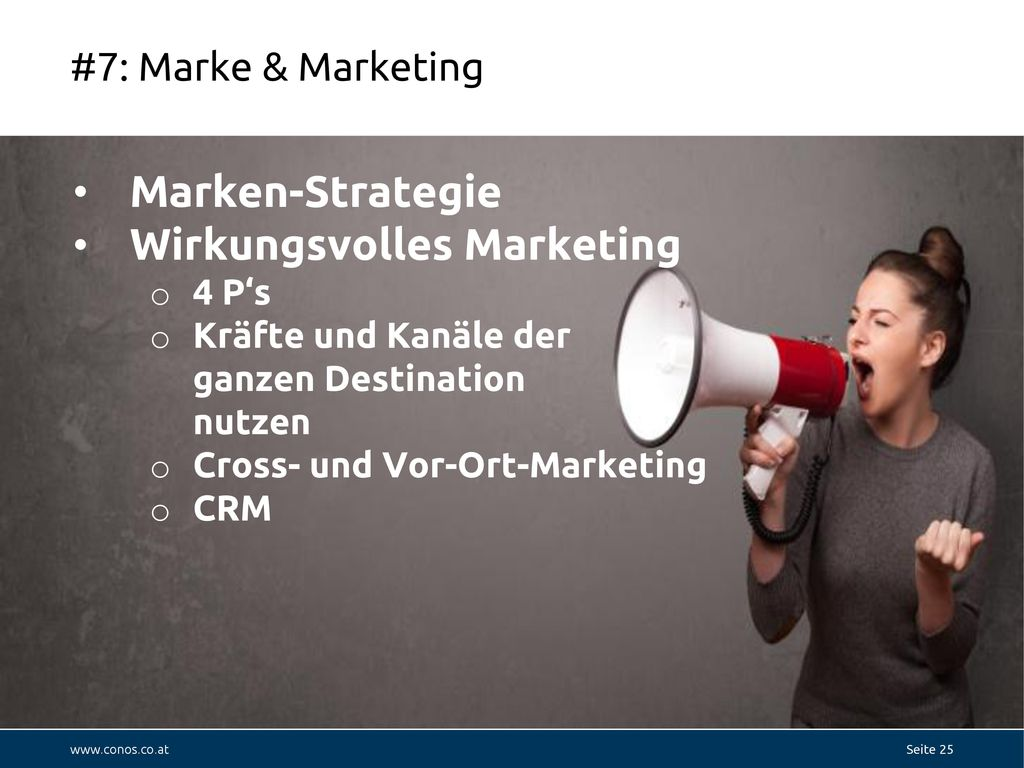 Wirkungsvolles Marketing