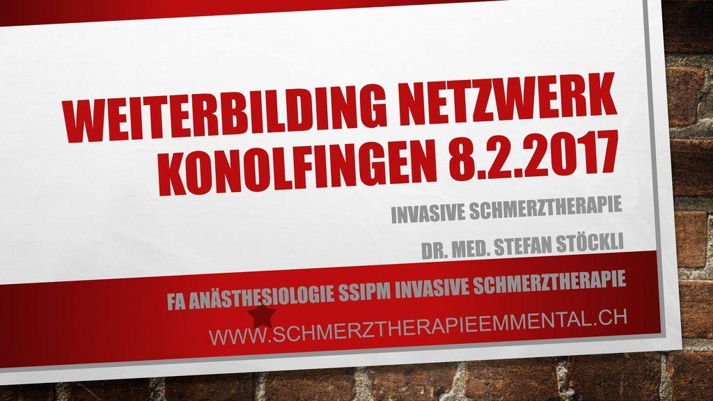 Weiterbilding Netzwerk Konolfingen 8.2.2017