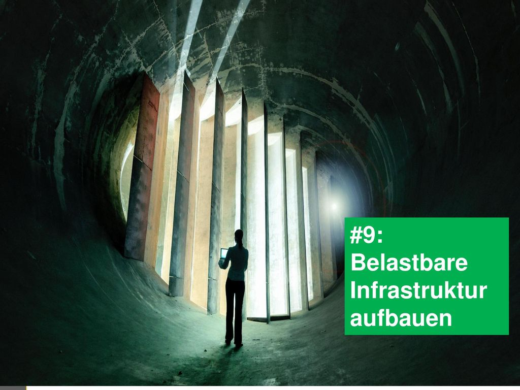 #9: Belastbare Infrastruktur aufbauen