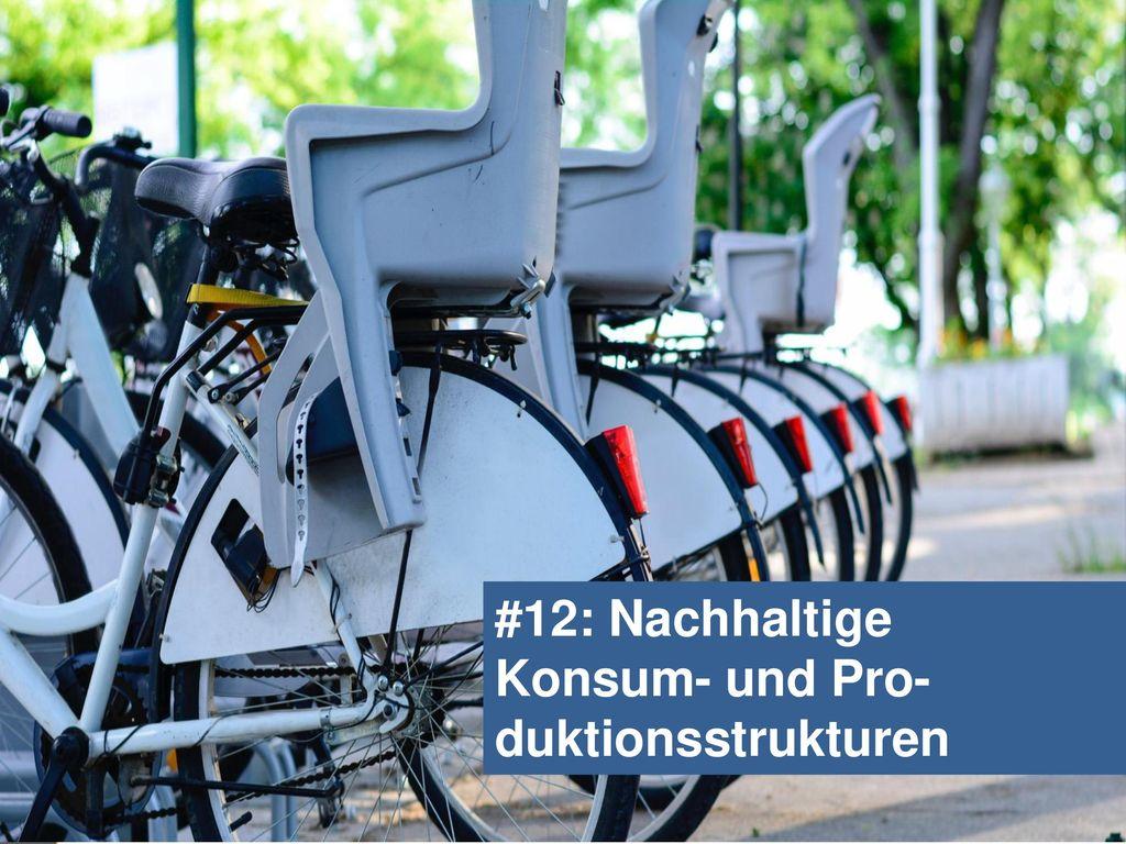 #12: Nachhaltige Konsum- und Pro-duktionsstrukturen