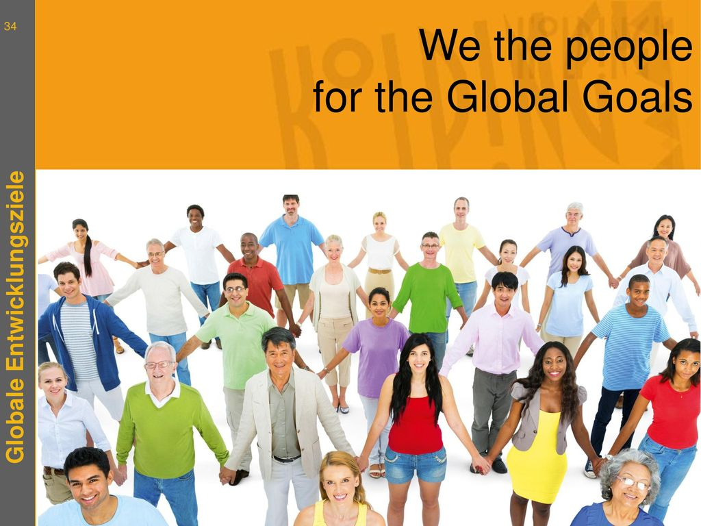 We the people for the Global Goals