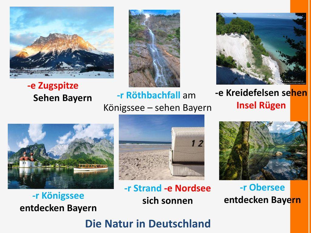 Die Natur in Deutschland