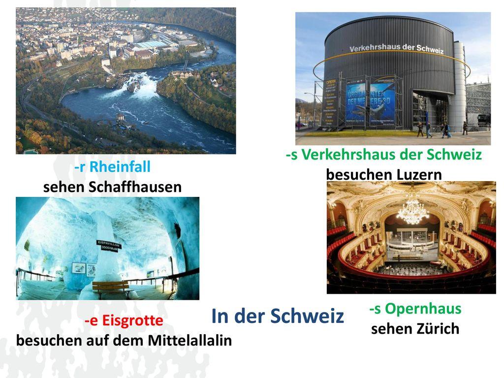 -s Verkehrshaus der Schweiz besuchen auf dem Mittelallalin