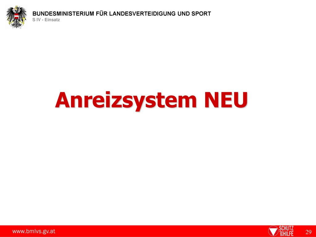 Anreizsystem NEU