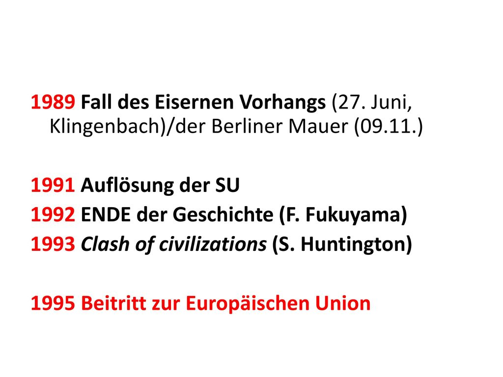 1989. Fall des Eisernen Vorhangs (27