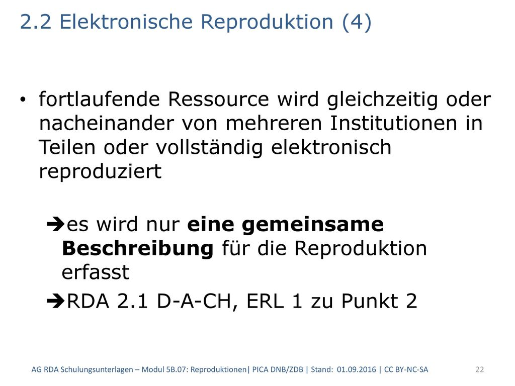2.2 Elektronische Reproduktion (4)