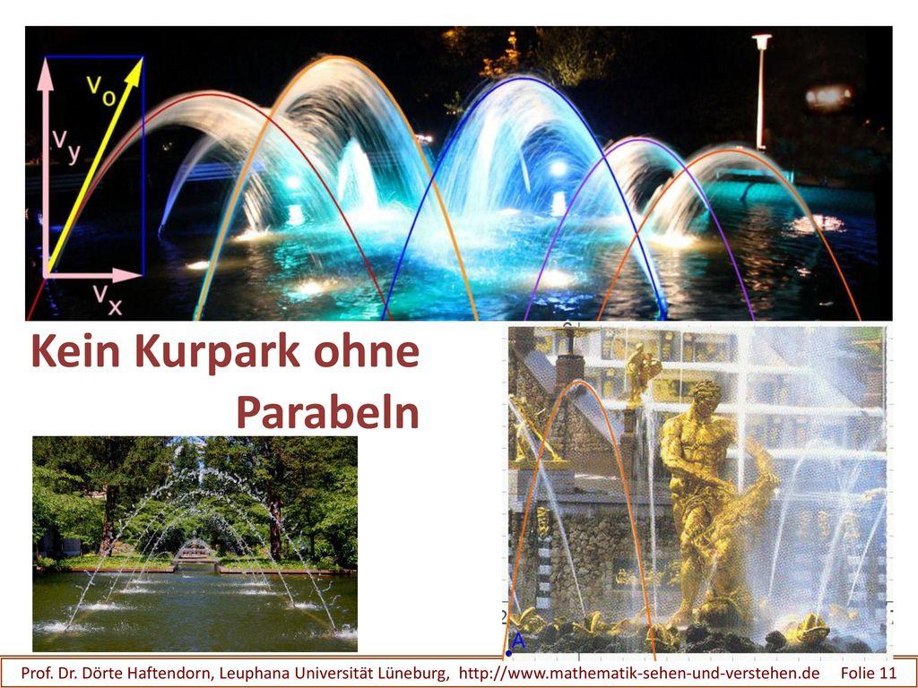 Kein Kurpark ohne Parabeln