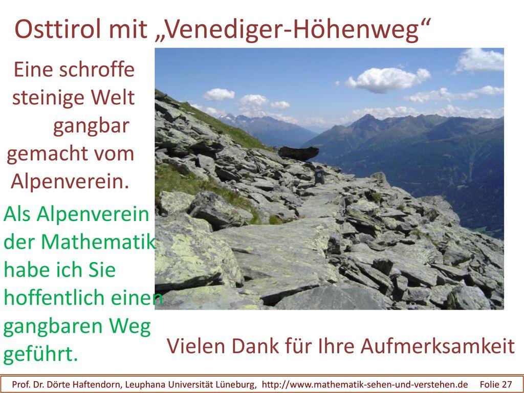 """Osttirol mit """"Venediger-Höhenweg"""