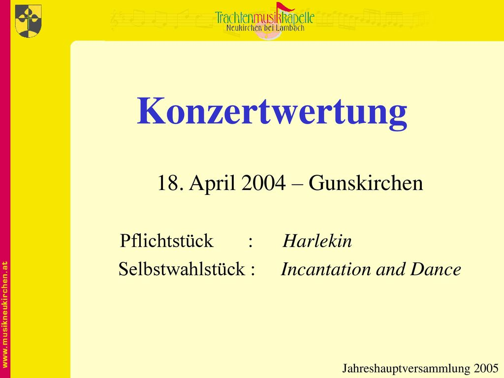 Selbstwahlstück : Incantation and Dance