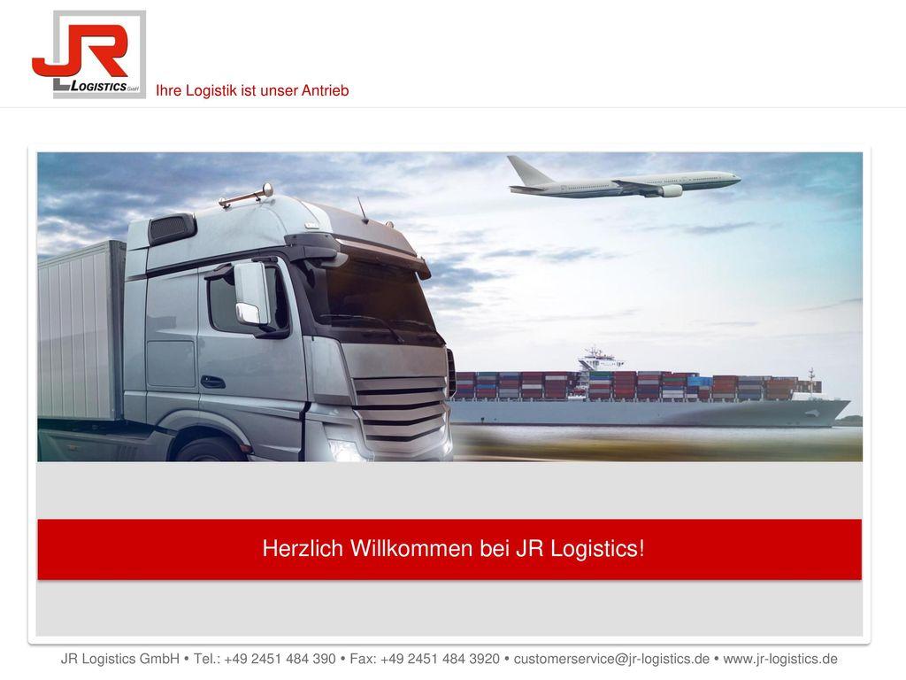 Herzlich Willkommen bei JR Logistics!