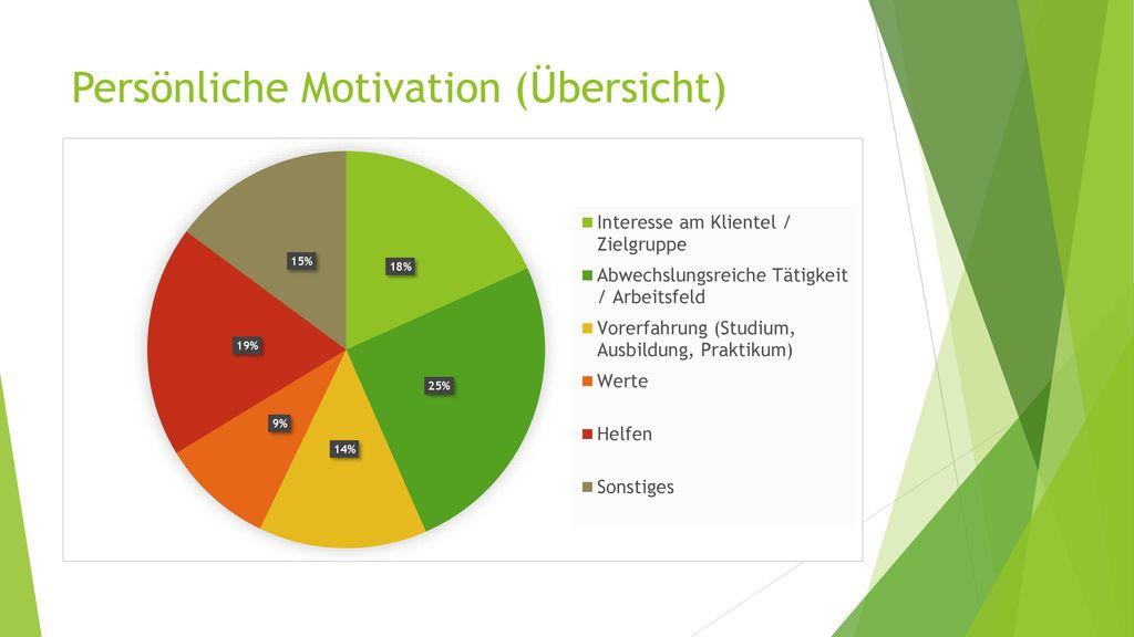 Persönliche Motivation (Übersicht)