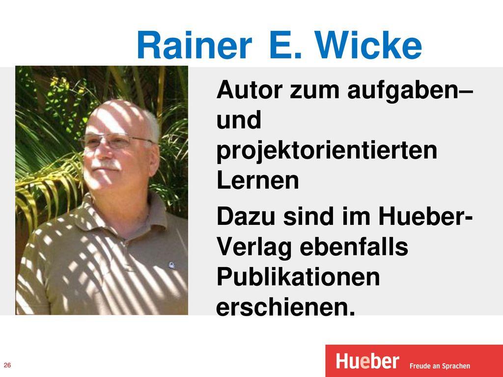 Rainer E.