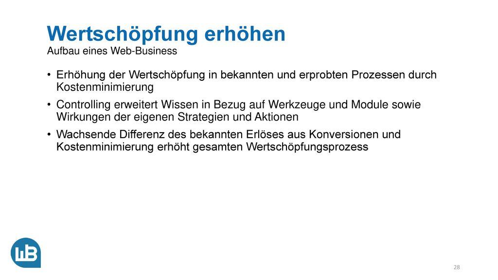 Zielgruppen gewinnen Aufbau eines Web-Business