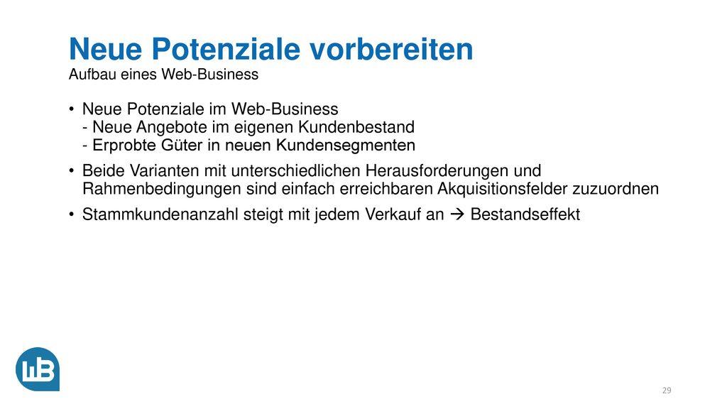 Wertschöpfung erhöhen Aufbau eines Web-Business