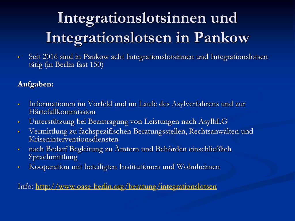 Integrationslotsinnen und Integrationslotsen in Pankow