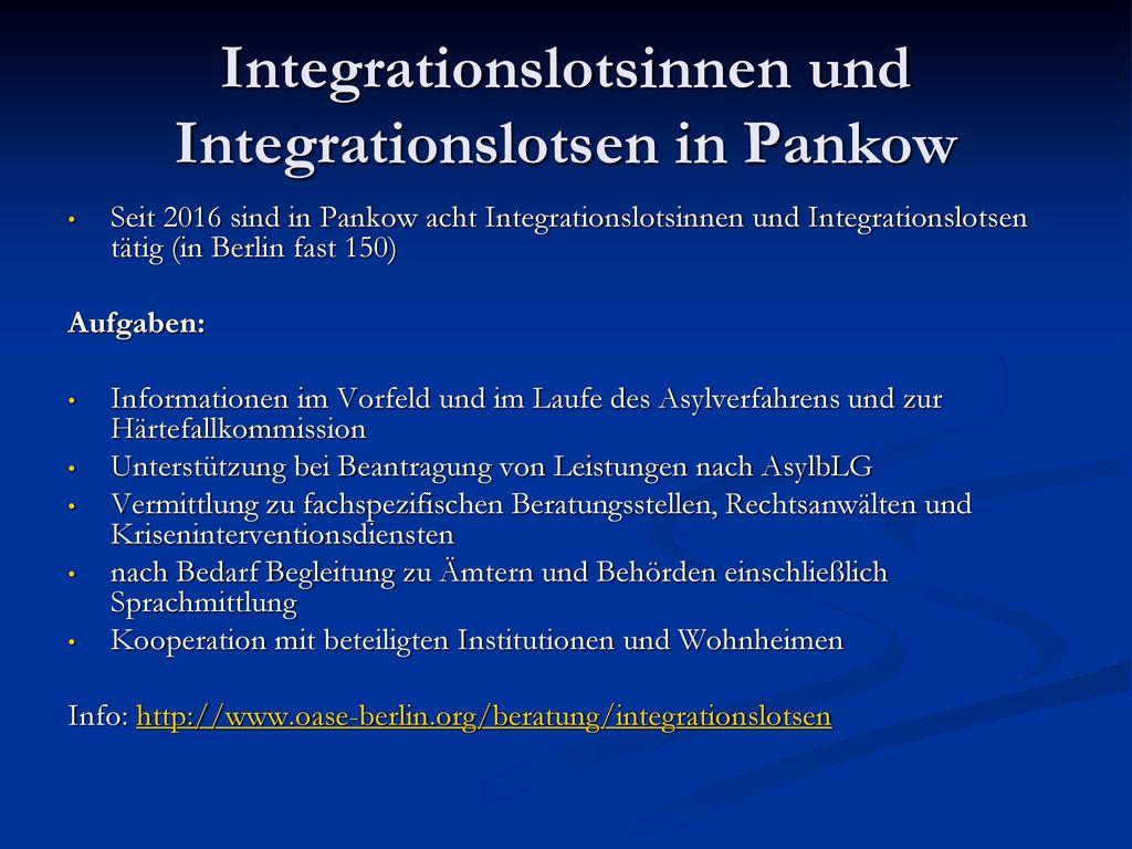 Integrationslotsinnen und Integrationslotsen in Pankow