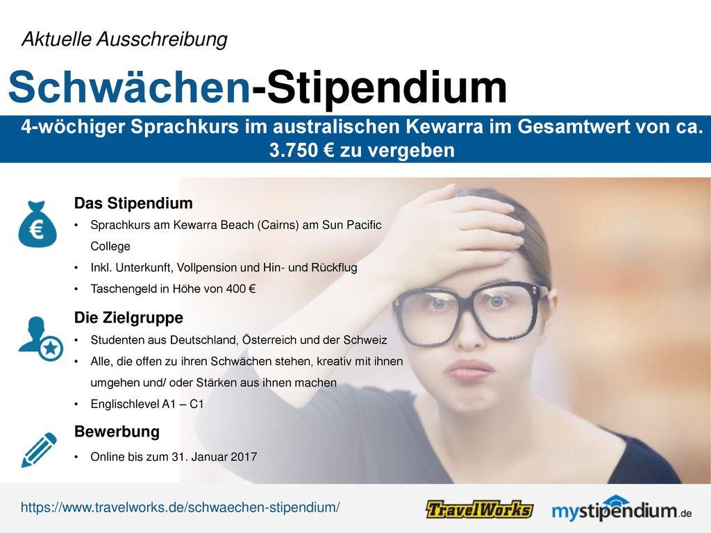 Schwächen-Stipendium