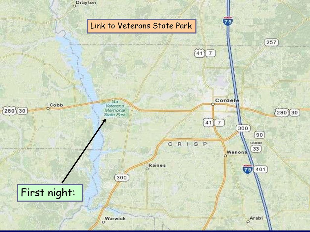Link to Veterans State Park