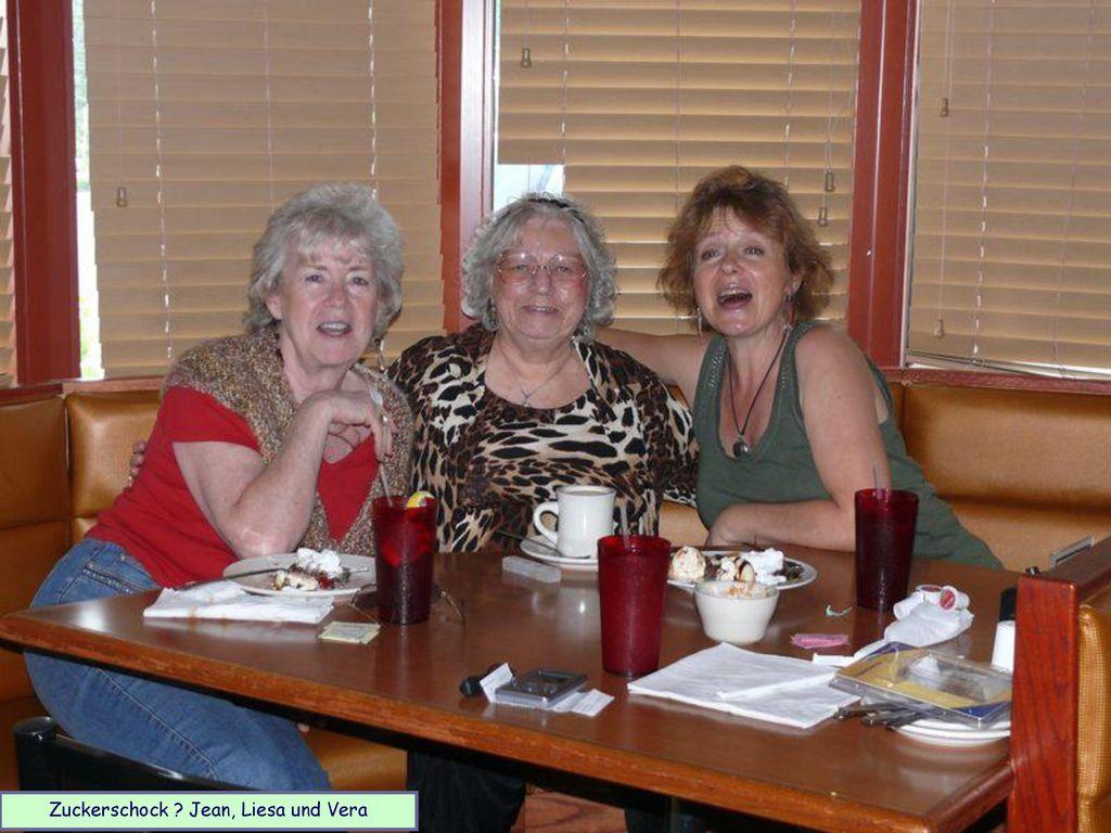 Zuckerschock Jean, Liesa und Vera