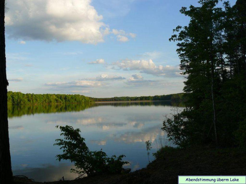 Abendstimmung überm Lake
