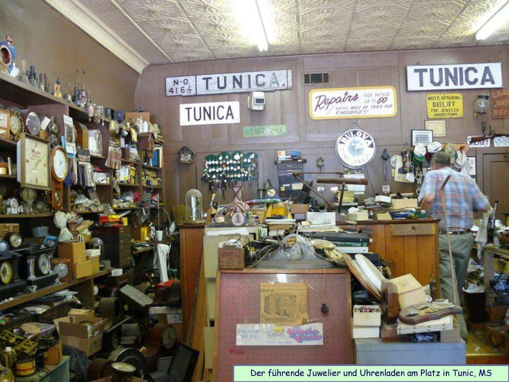 Der führende Juwelier und Uhrenladen am Platz in Tunic, MS